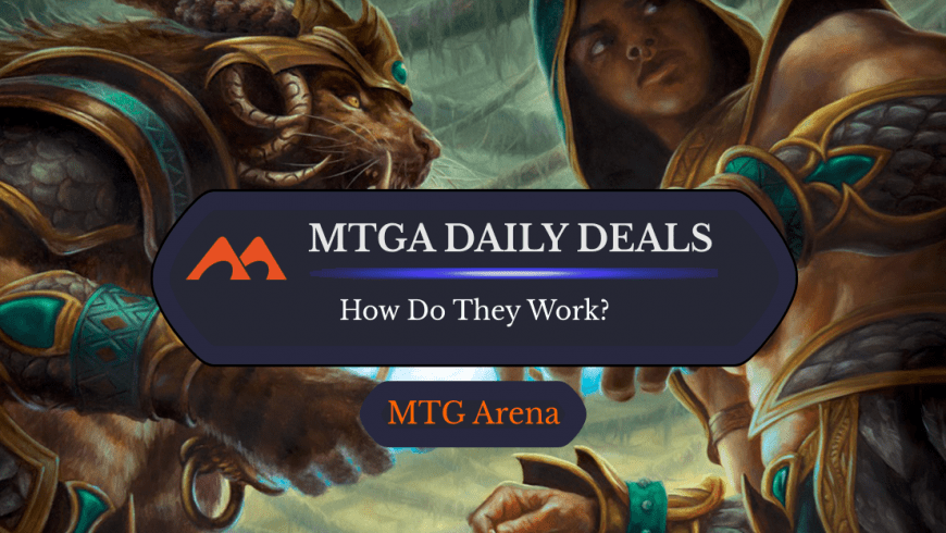 How Do Daily Deals in MTG Arena Work?