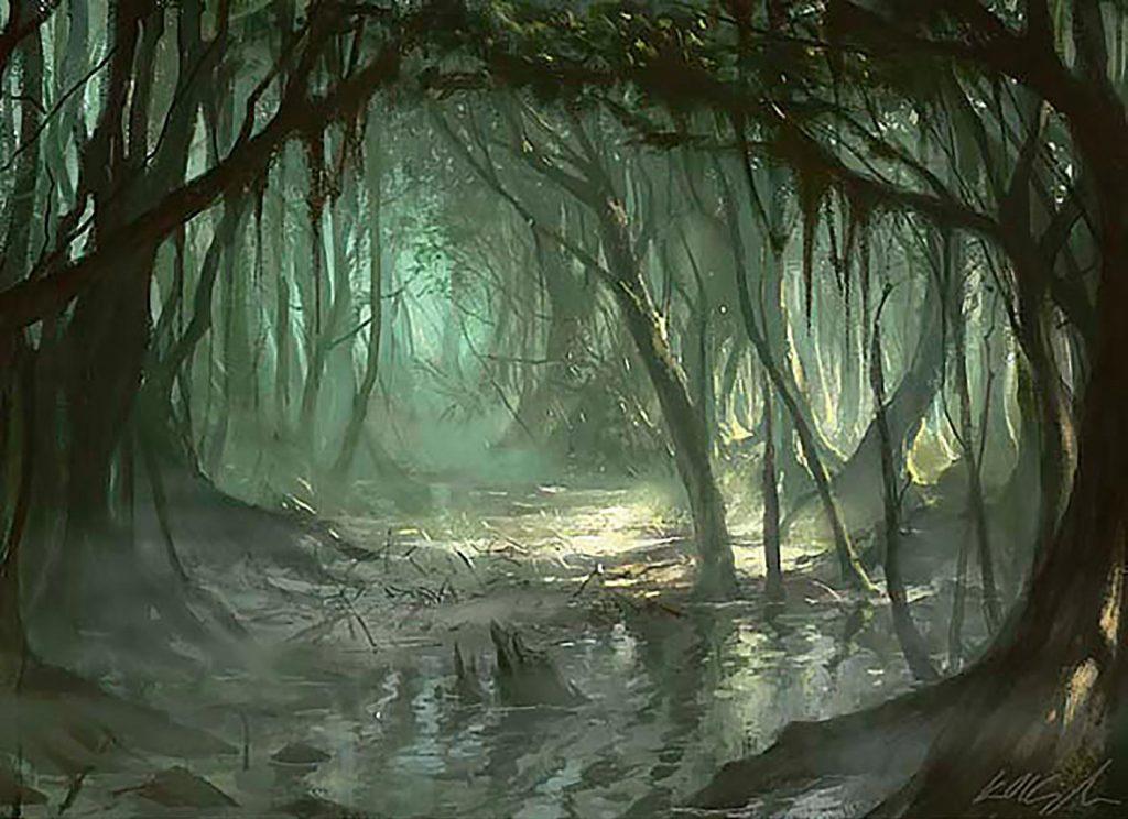 Bayou - Illustration by Karl Kopinski