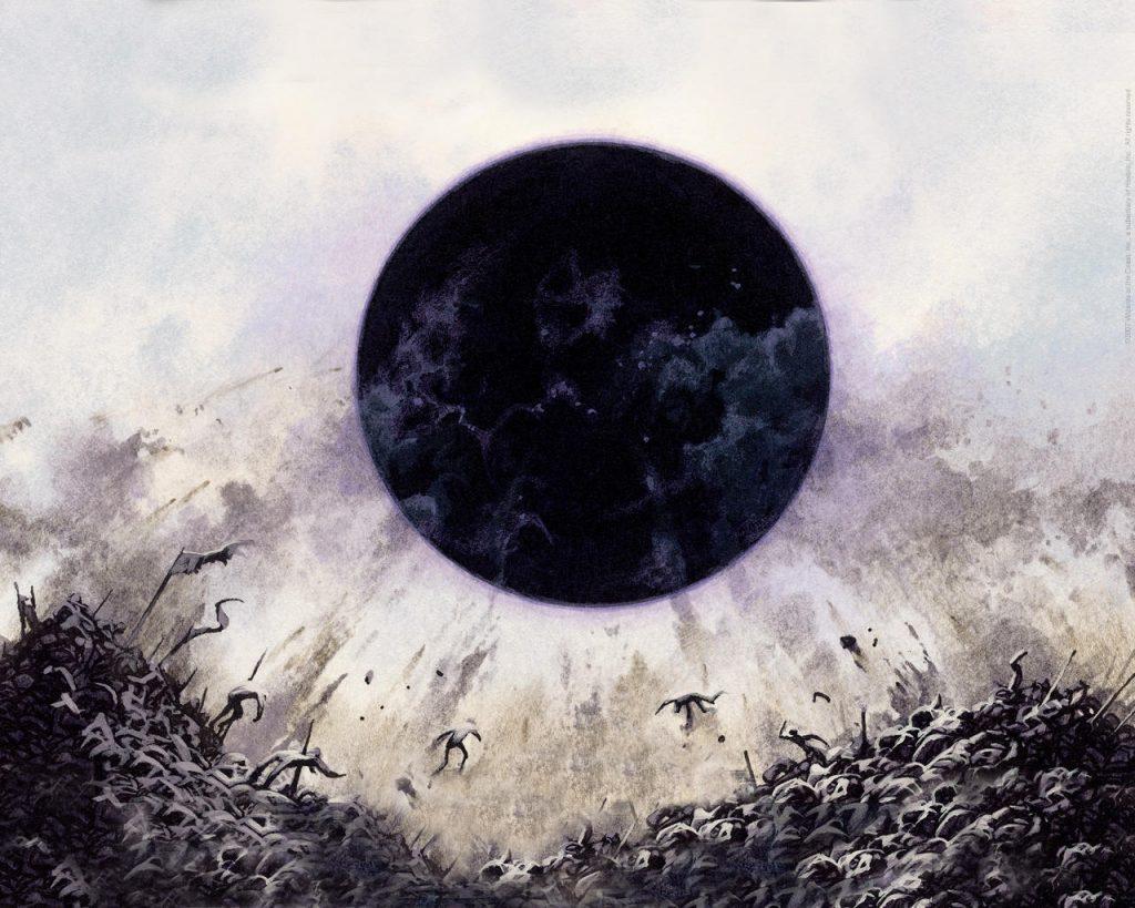 Damnation - Illustration by Kev Walker