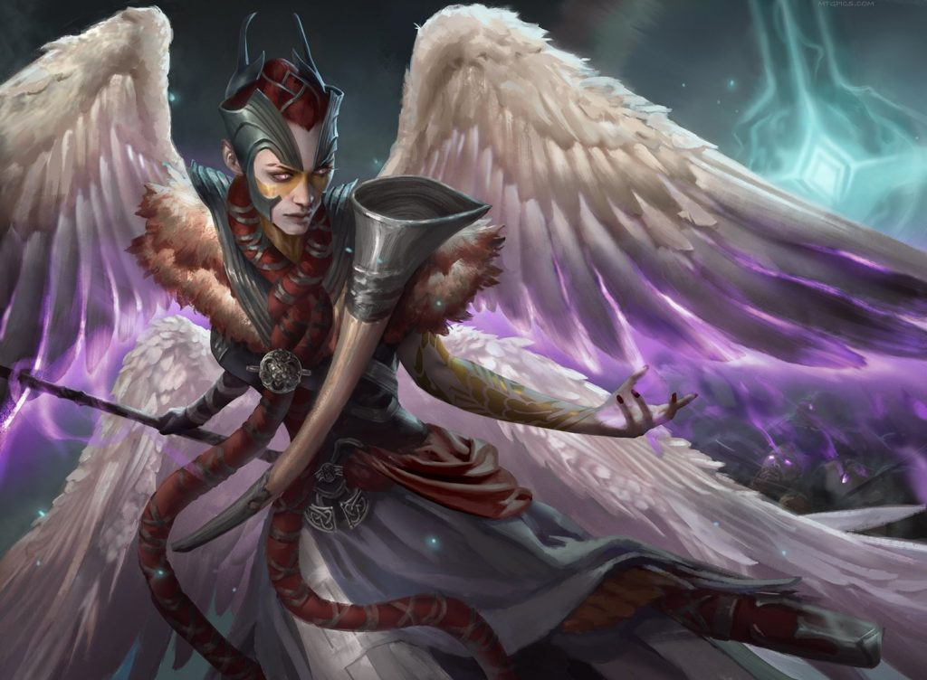 Firja, Judge of Valor - Illustration by Livia Prima