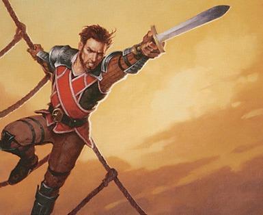 Gerrard Capashen - Illustration by Brom