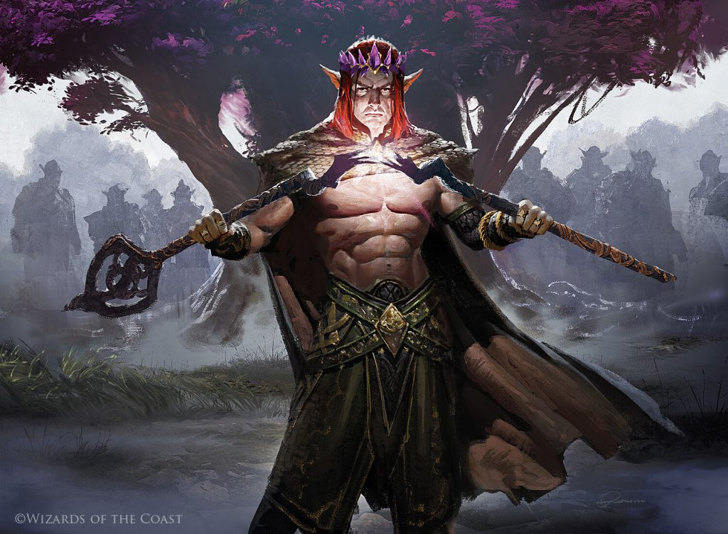 Harald, King of Skemfar - Illustration by Grzegorz Rutkowski