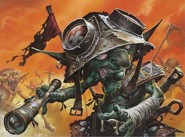Ib Halfheart, Goblin Tactician - Illustration by Wayne Reynolds