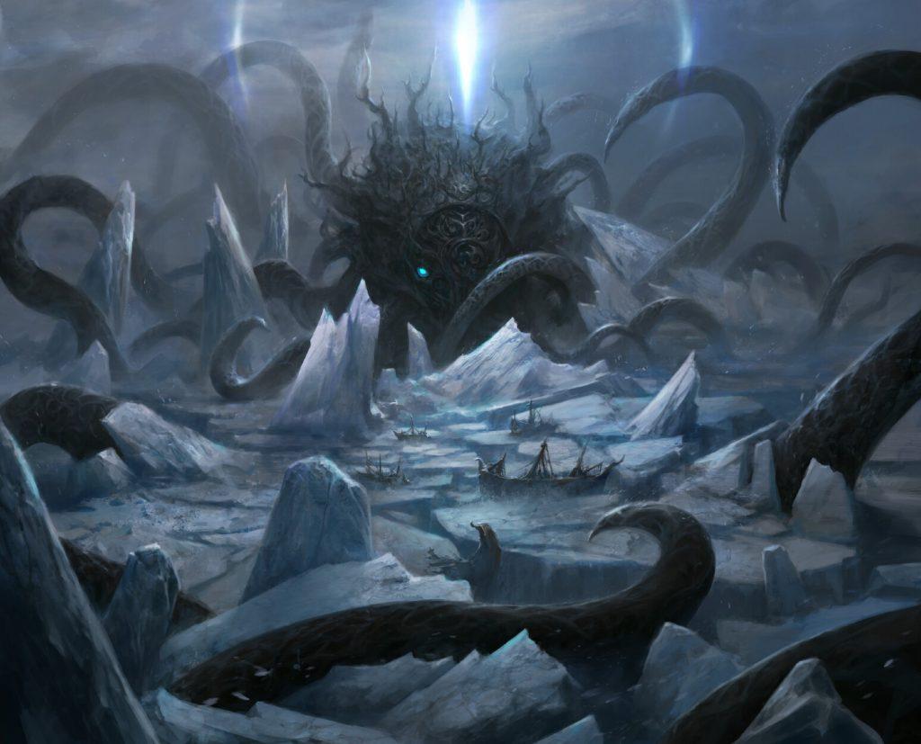 Icebreaker Kraken - Illustration by Chris Cold