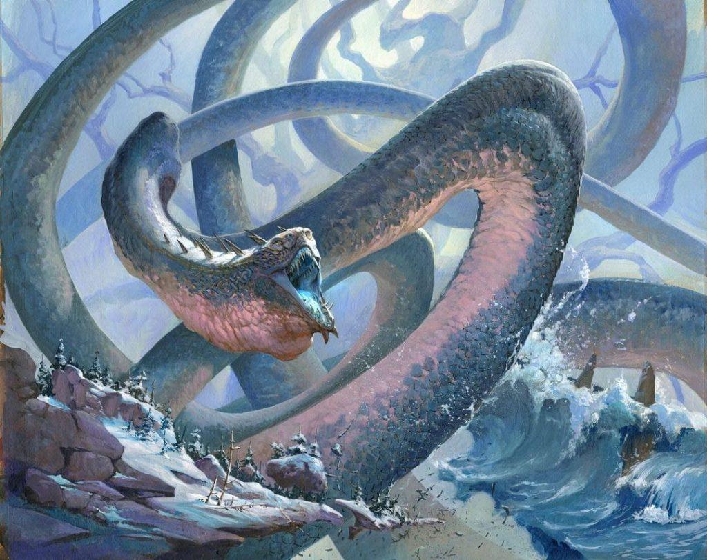 Koma, Cosmos Serpent - Illustration by Jesper Ejsing