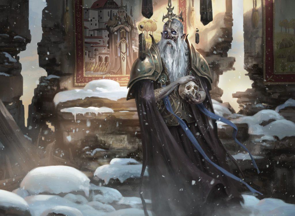 Narfi, Betrayer King - Illustration by Daarken