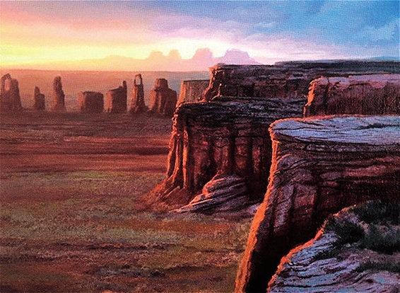 Plateau - Illustration by Mark Poole