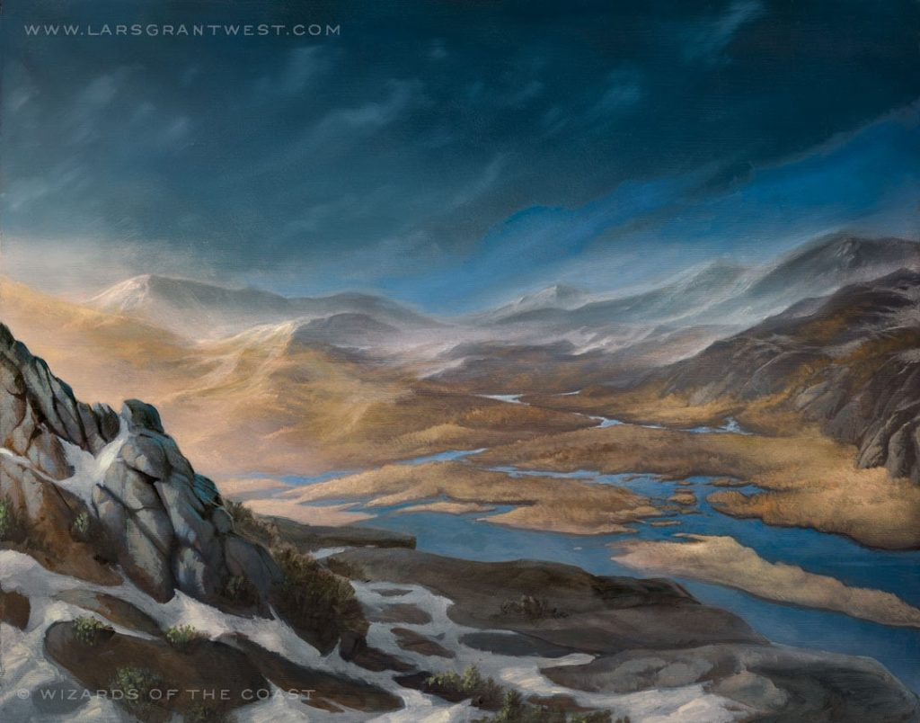 Tundra - Illustration by Lars Grant-West