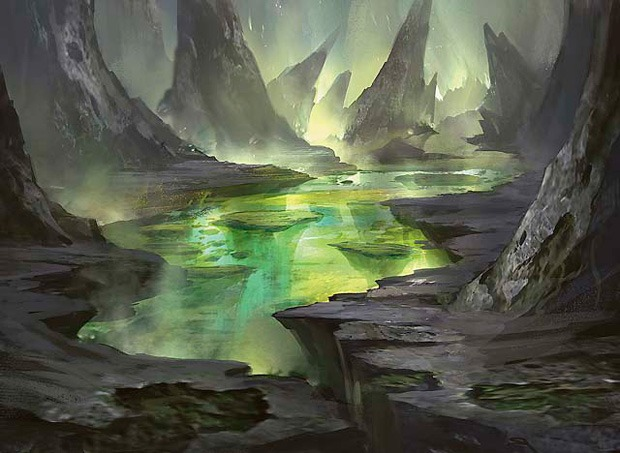 Underground Sea - Illustration by Cliff Childs