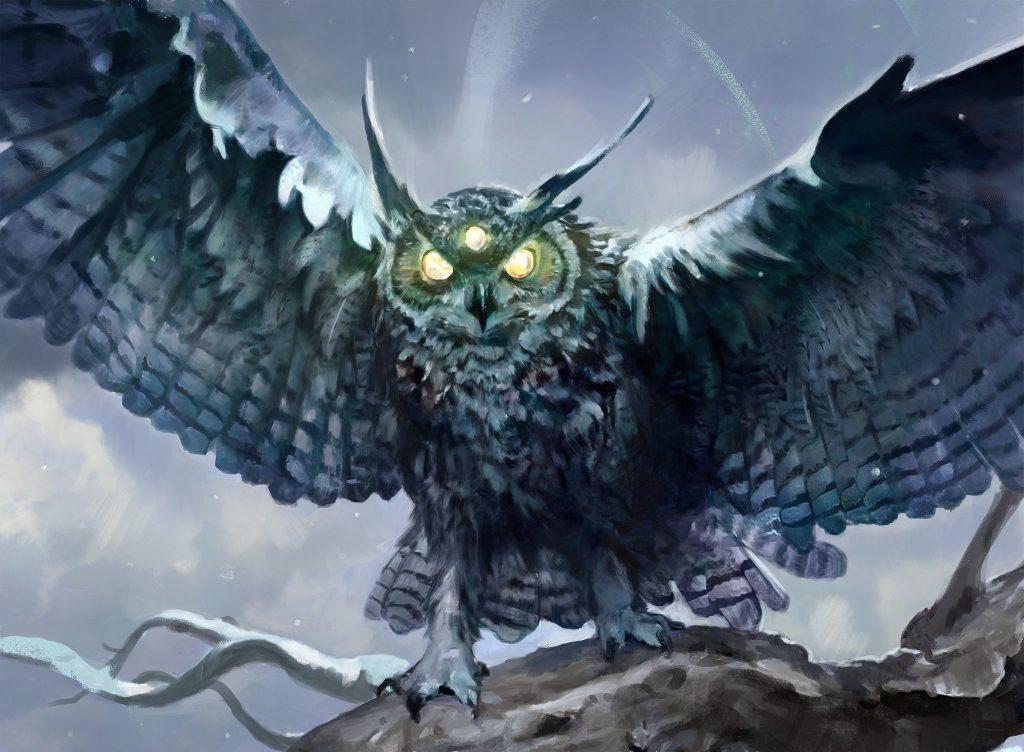 Vega, the Watcher - Illustration by Paul Scott Canavan