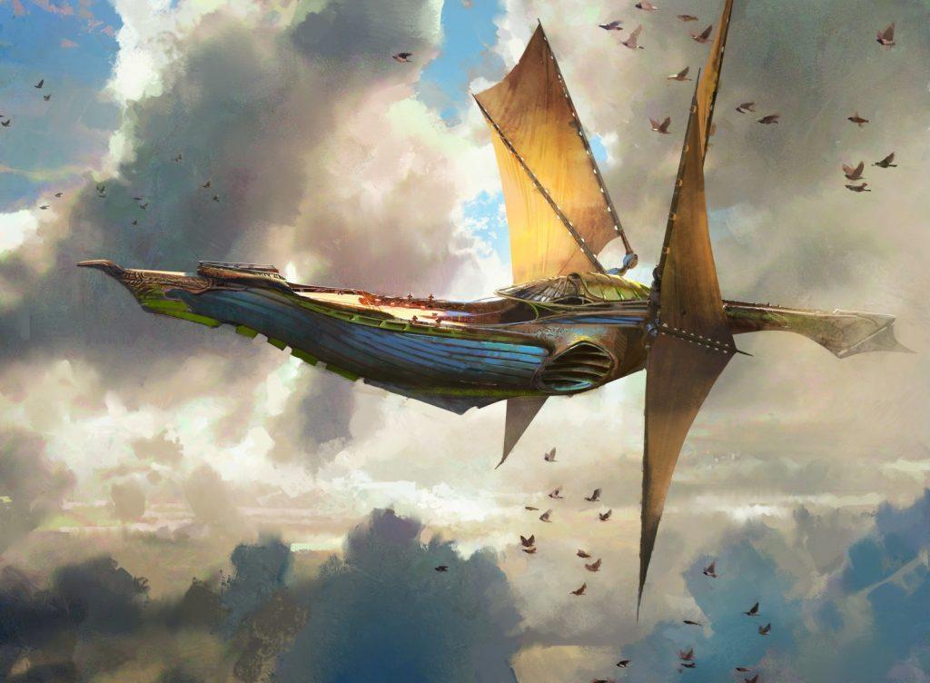 Weatherlight - Illustration by Jaime Jones
