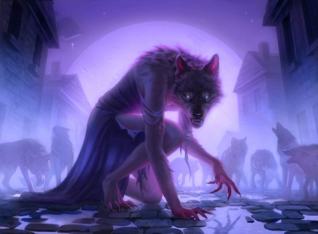 Werewolf Pack Leader - Illustration by Miranda Meeks