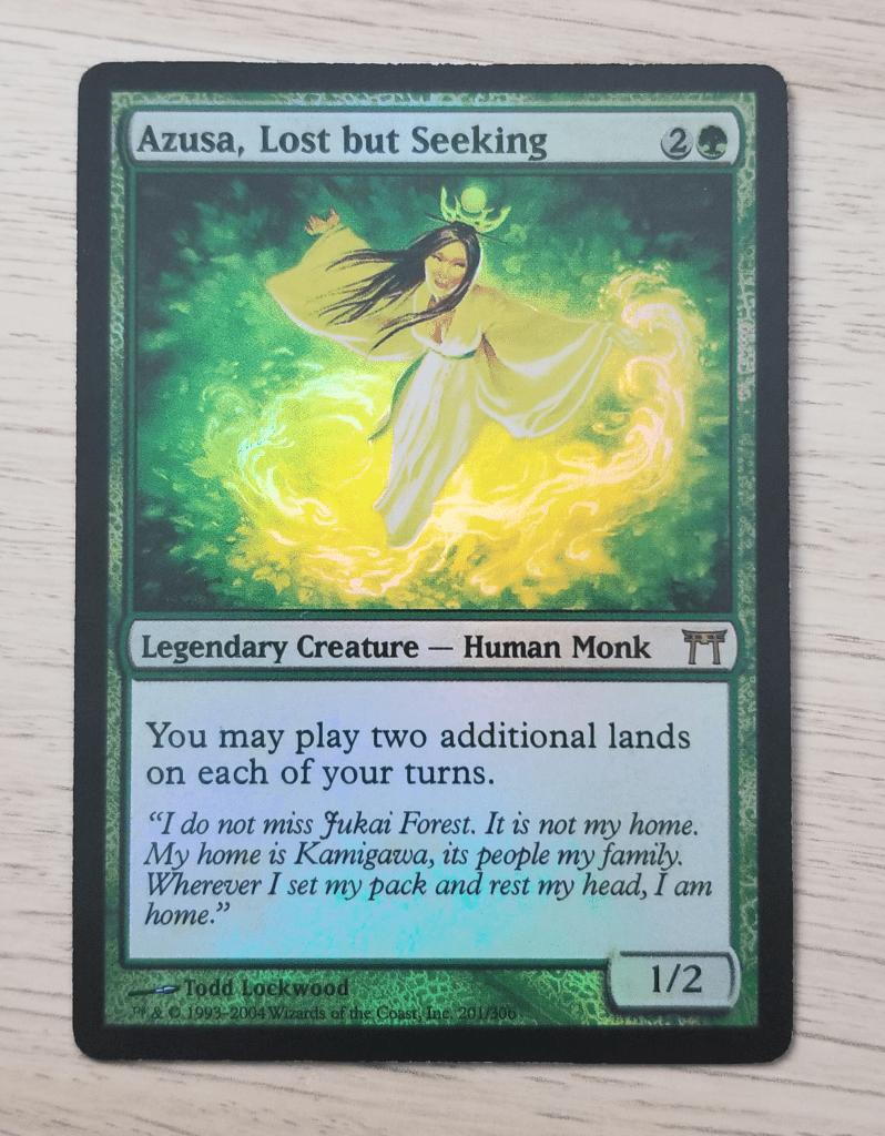 Azusa, Lost but Seeking foil proxy