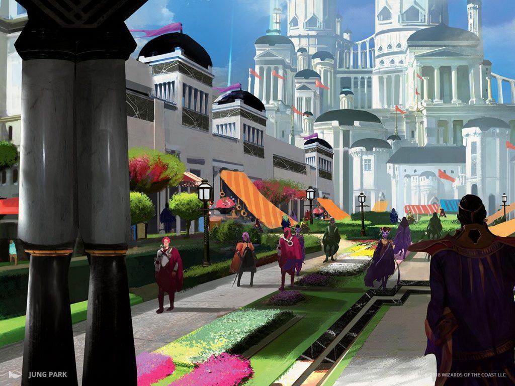 Bountiful Promenade - Illustration by Jung Park
