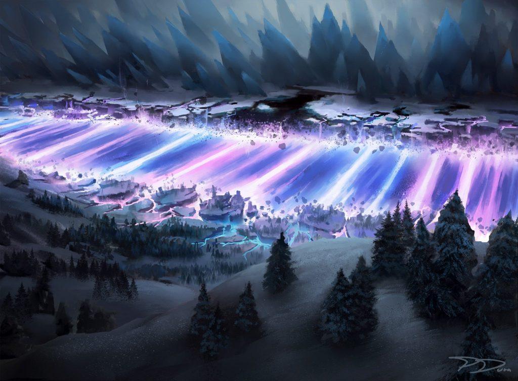 Doomskar - Illustration by Piotr Dura