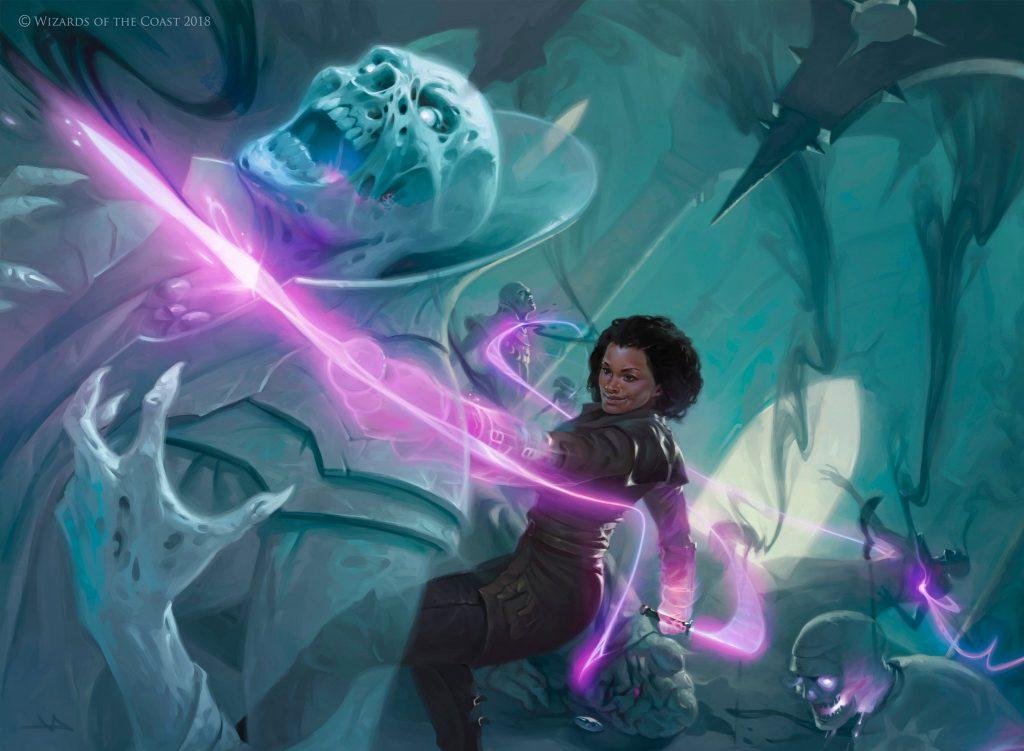 Kaya's Wrath - Illustration by Victor Adame Minguez