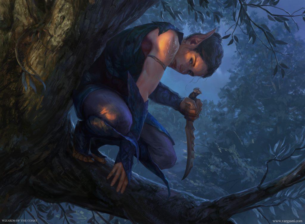 Nadier's Nightblade - Illustration by Randy Vargas
