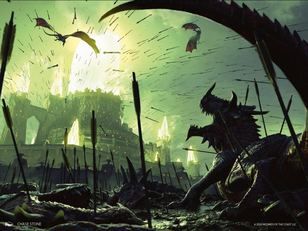 Ruinous Ultimatum - Illustration by Chase Stone