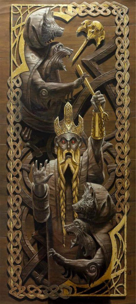 The Bears of Littjara - Illustration by Randy Gallegos