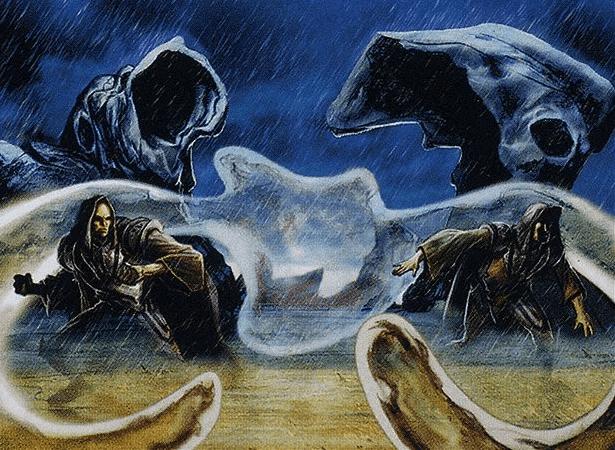 Veiling Oddity - Illustration by Dave DeVries