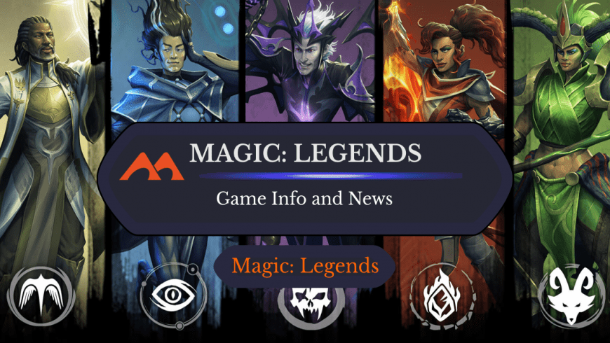 Everything You Need to Know About the New Magic: Legends Game