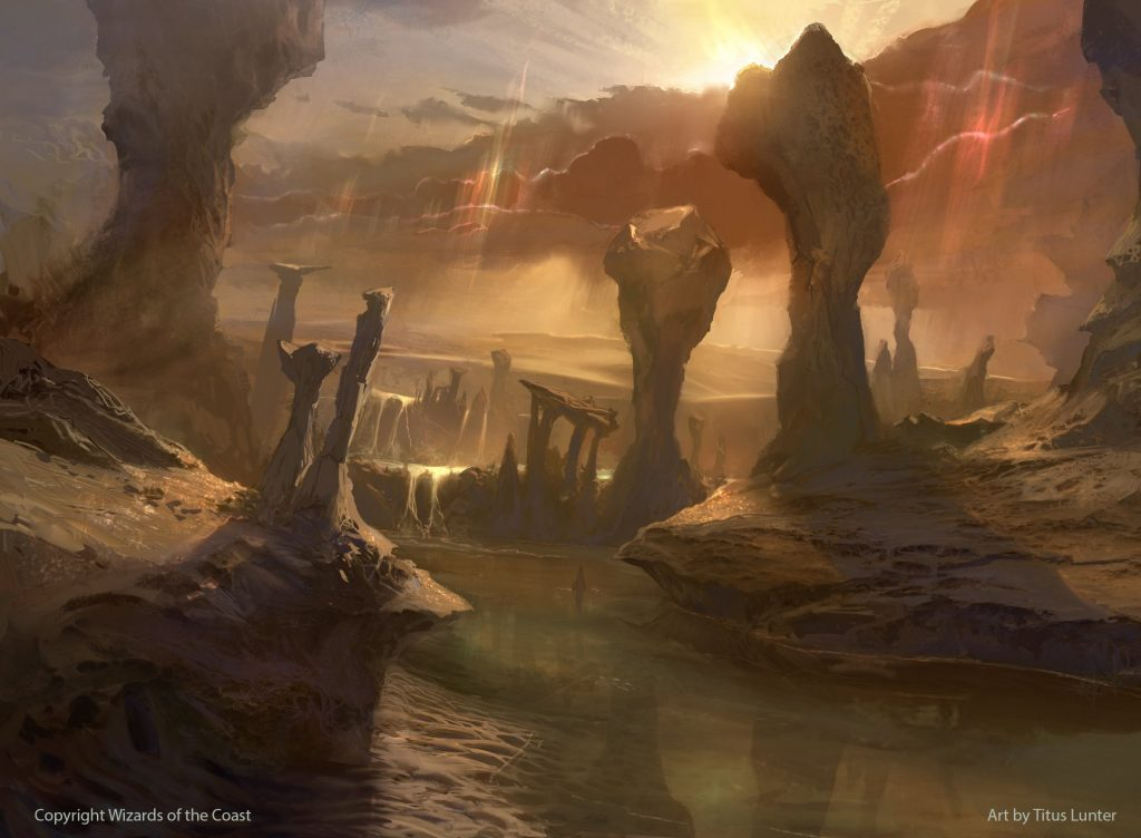 Canyon Slough - Illustration by Titus Lunter