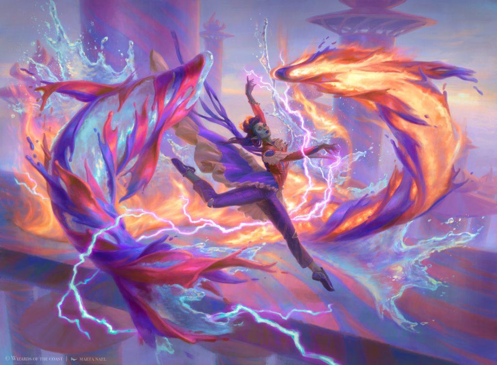 Elemental Masterpiece - Illustration by Marta Nael