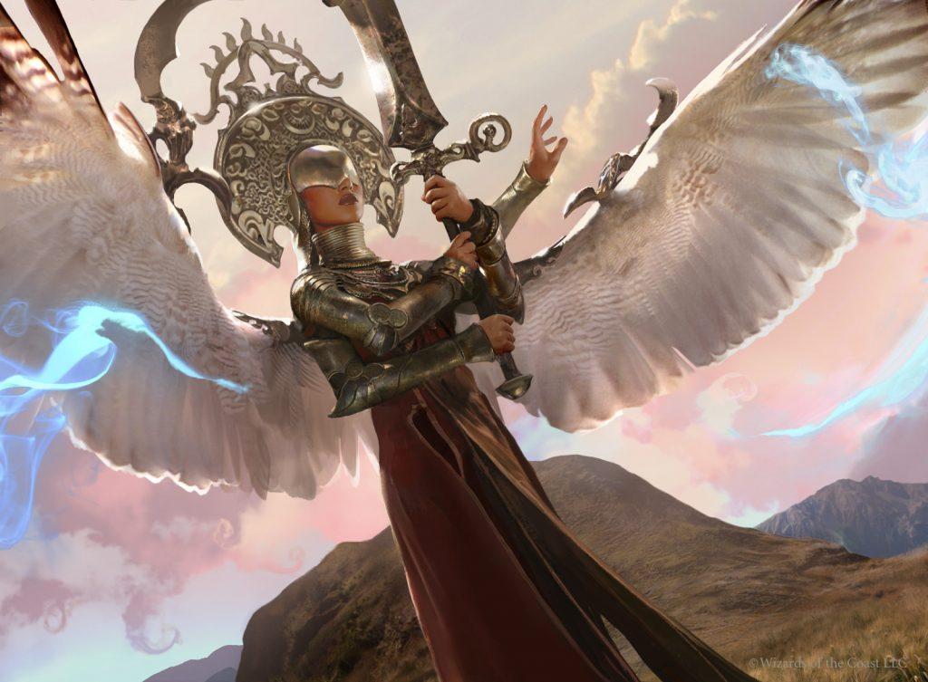 Exquisite Archangel - Illustration by Brad Rigney