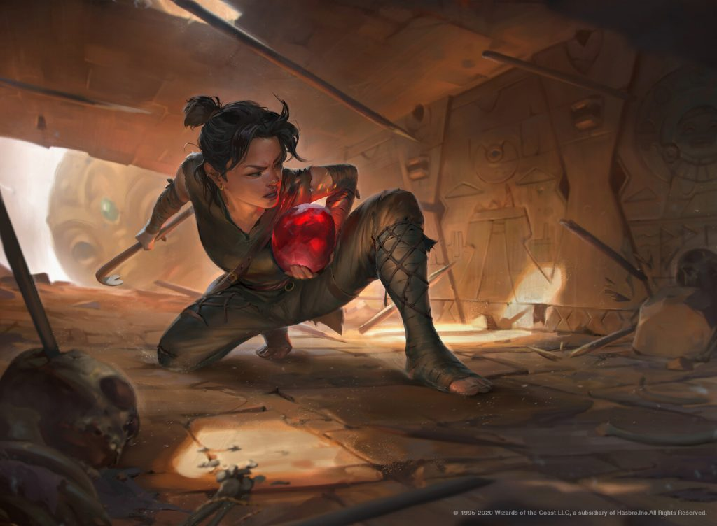 Gamble - Illustration by Rudy Siswanto