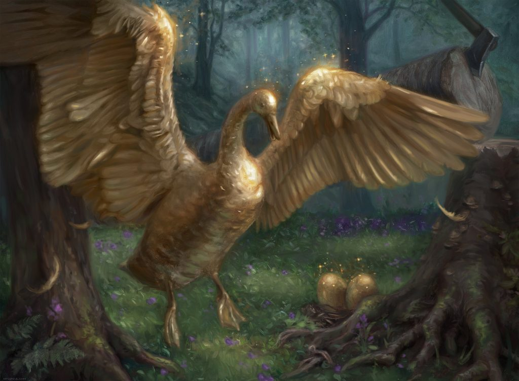 Gilded Goose - Illustration by Lindsey Look
