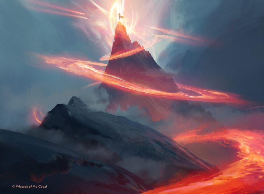 Mountain (Jumpstart) - Illustration by Titus Lunter