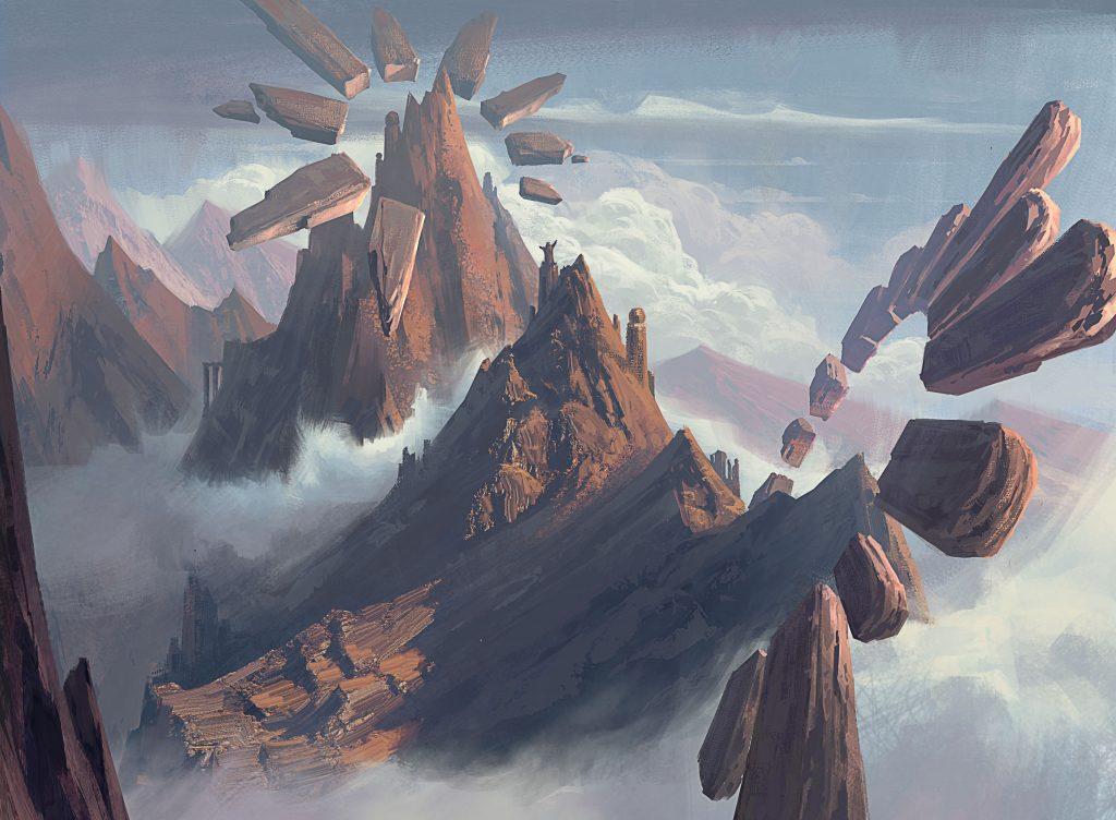 Mountain (Strixhaven) - Illustration by Grady Frederick