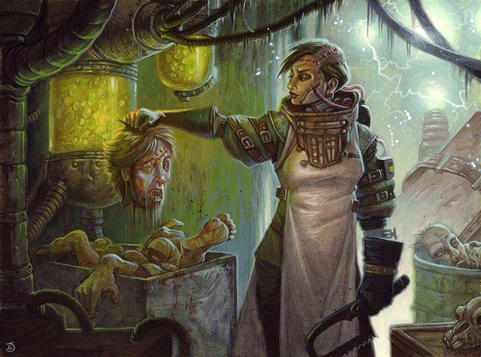 Stitcher's Supplier - Illustration by Chris Seaman