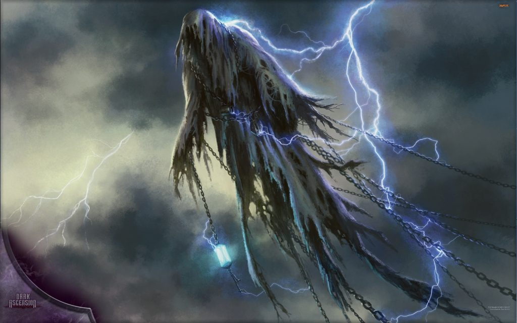 Stormbound Geist - Illustration by Dan Scott