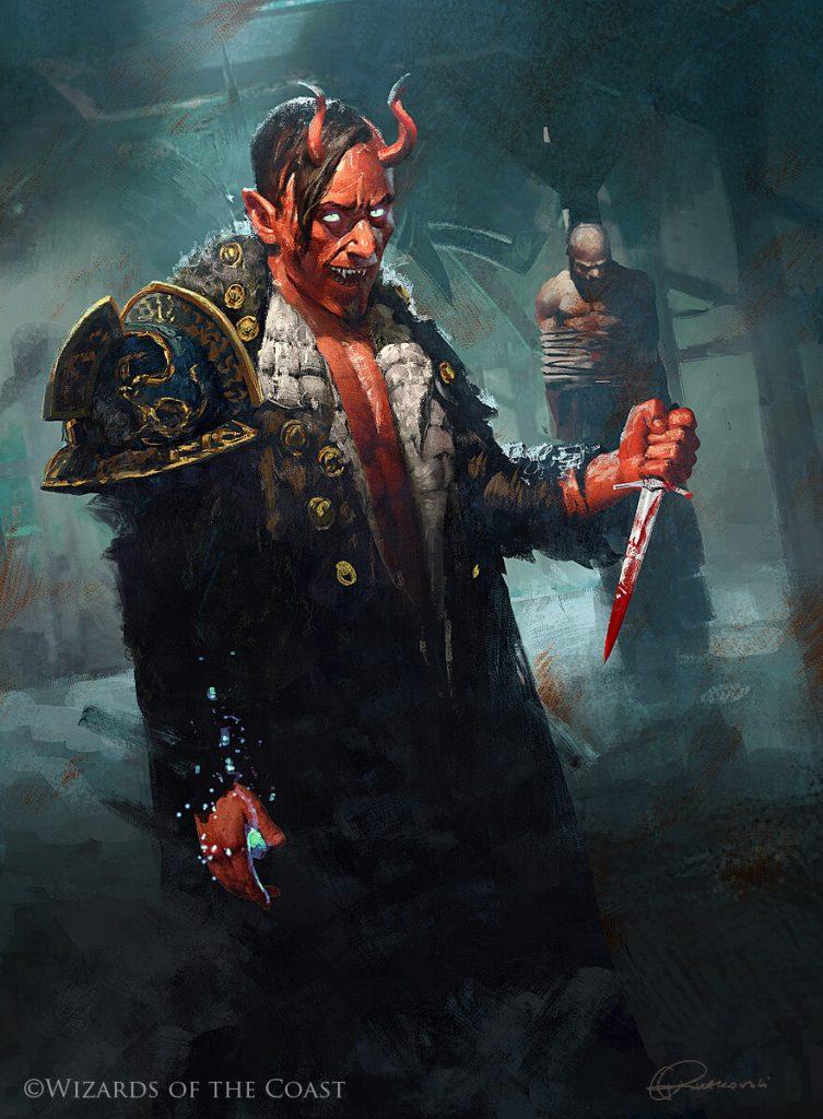 Tibalt, Cosmic Imposter - Illustration by Grzegorz Rutkowski