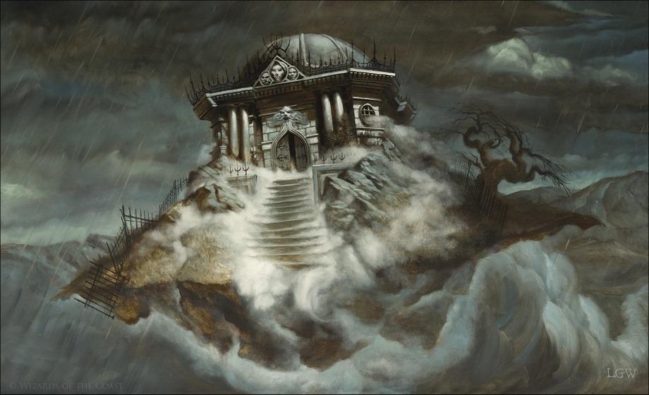 Tormod's Crypt - Illustration Lars Grant-West