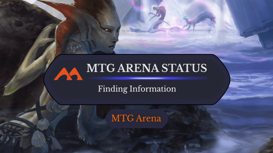 How to Find Out the Server Status for MTG Arena