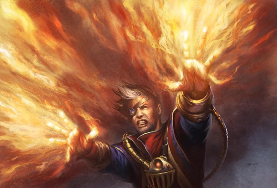 Fire // Ice - Illustration by Dan Scott