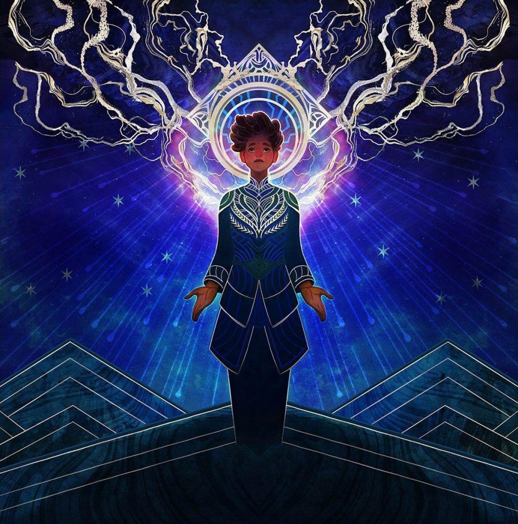 Brainstorm (Strixhaven Mystical Archive) - Illustration by Justin Hernandez & Alexis Hernandez