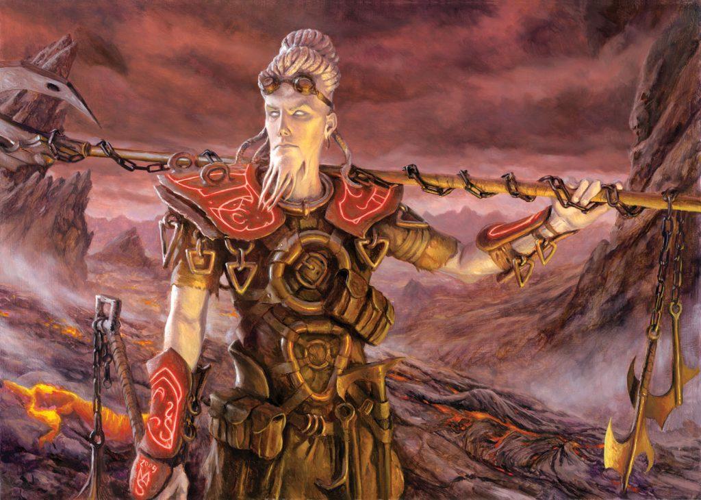 Kor Firewalker - Illustration by Matt Stewart