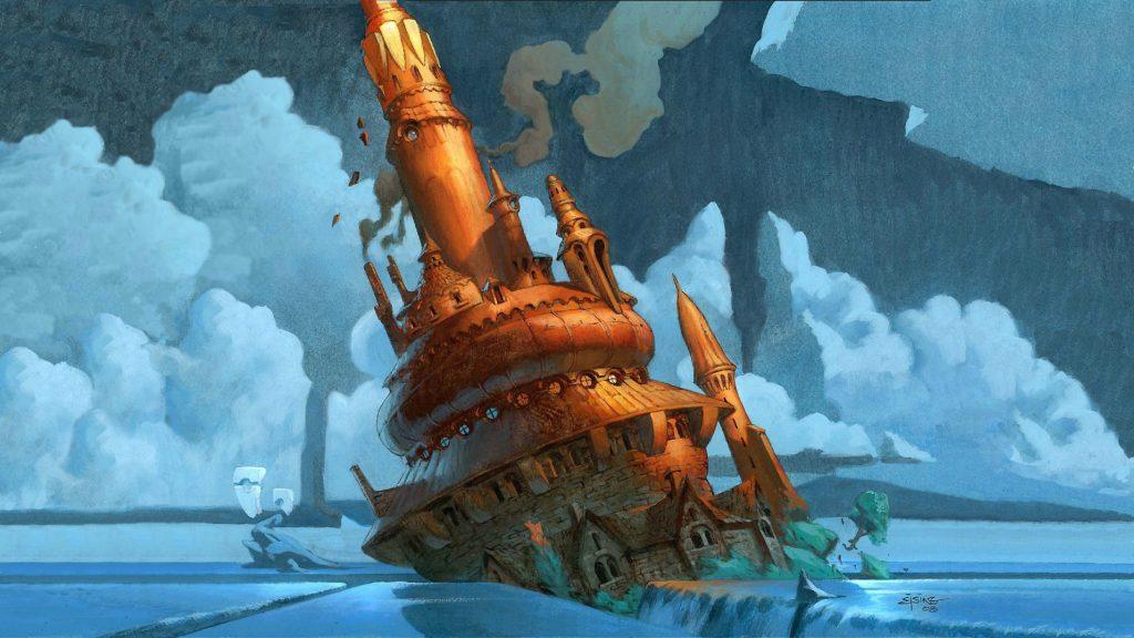 Reliquary Tower - Illustration by Jesper Ejsing