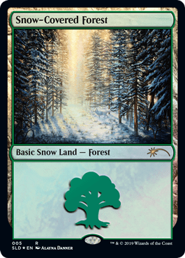 Snow-Covered Forest (Secret Lair)