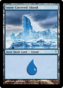 Snow-Covered Island (Coldsnap)