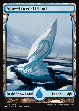 Snow-Covered Island (Modern Horizons)