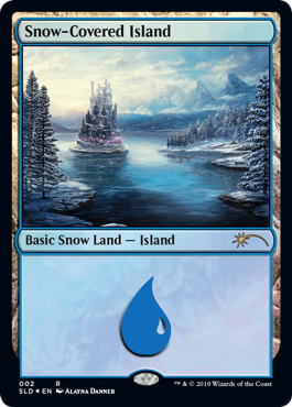 Snow-Covered Island (Secret Lair)