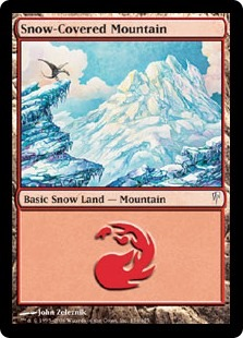 Snow-Covered Mountain (Coldsnap)