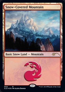 Snow-Covered Mountain (Secret Lair)