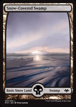 Snow-Covered Swamp (Modern Horizons)
