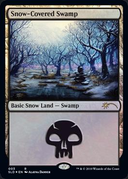 Snow-Covered Swamp (Secret Lair)