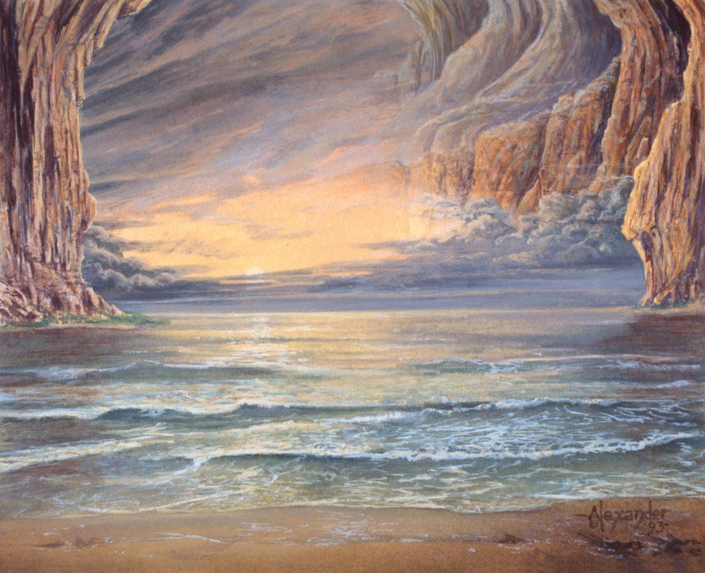 Underground Sea - Illustration by Rob Alexander